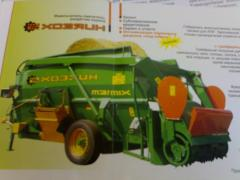 The distributor - the grinder-mixer of forages