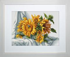 Embroidery cross of B2264 Sunflowers Cross stitch