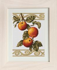 Embroidery cross of B276 Apple Twig Cross stitch