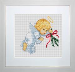Embroidery cross of B190 Angel Cross stitch