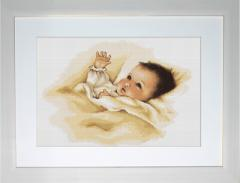 Embroidery cross of B385 Baby Cross stitch