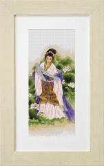 Embroidery cross of B226 Love Cross stitch