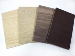 Шпонированная древесноволокнистая плита (МДФ)