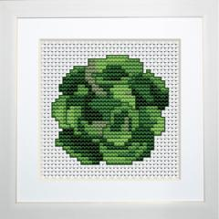 Embroidery cross of B035 Cabbage Cross