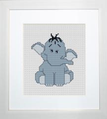 Embroidery cross of B041 Elephant Cross