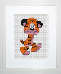 Embroidery cross of B043 Tiger Cub Cross