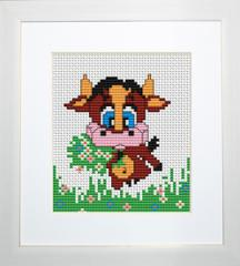 Embroidery cross of B047 Cow Cross stitch Broderie