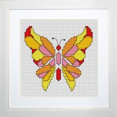 Embroidery cross of B049 Butterfly Cross