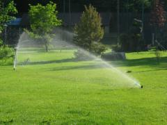 Systems of watering, system of watering of a lawn,
