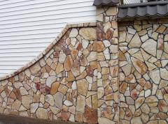 Природный камень для отделки фасадов