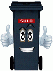 SULO 120 trash bins of l, 240 l, 360 l