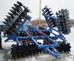 The disk harrow of BDT-3/7 to buy Moldova