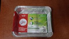 CONTAINERS FROM FOOD ALUMINUM FOIL