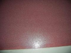 Quartz the filled polyurethane coverings