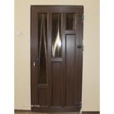 PVC דלתות-כהה אלון