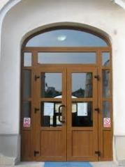 Ulicy drzwi PVC Mołdawii