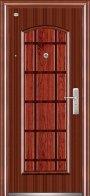 Las puertas los de la casa de entrada