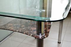 Table from glass