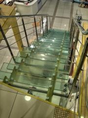 Glass ladder
