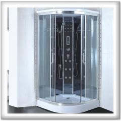 Shower cabins hydromassage