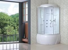 Shower cabins round