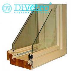 Energy saving double-glazed windows