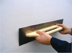 Смеси для выравнивания стен