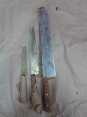 Кухонные ножи и ножницы