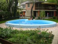 The external swimming pool from CADOVA IMPEX in