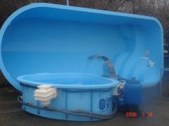 Мини-бассейн из пластика от CADOVA IMPEX (Молдова)