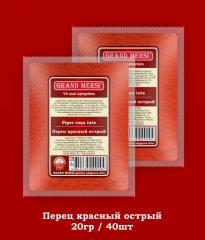 Перец красный острый