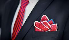Decorative pocket scarf
