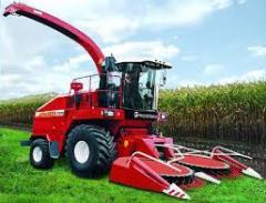The equipment is fodder harvesting