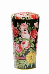 Ваза  Розы ( Крупнолистовой черный чай)