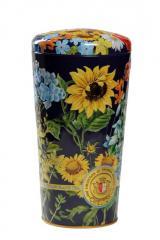 Ваза Полевые Цветы (Крупнолистовой черный чай)