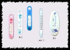 Термометр бытовой водный