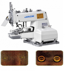 Button machine of JACK JK-373