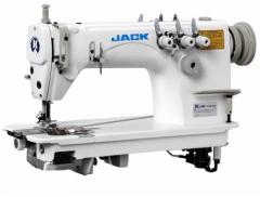 Двухигольная машина цепного стежка JACK JK-8558