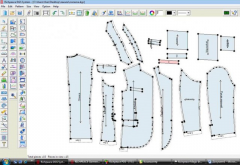 DGS program of the Richpeace Garment CAD system