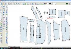 Программа DGS системы Richpeace Garment CAD