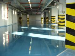 Polymeric floors