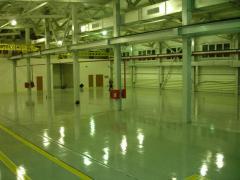 Floors are bulk antistatic