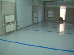 Epoxy bulk floors