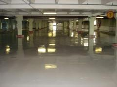 Polymeric floors