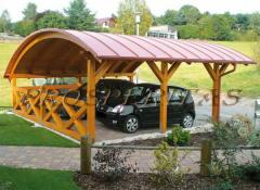 Wooden carports from Prosperitas