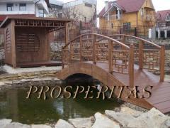 Decorative bridges, garden of Prosperitas