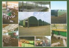 Sheds for cultivation of animals in Moldova