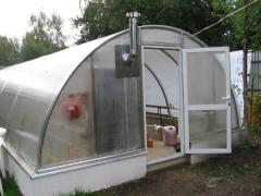 Greenhouses with heating in Moldova