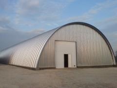 Hangars Moldova, Angara concrete, Angara under the warehouse in Moldova