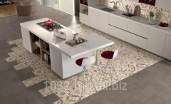 The tile is facing, portselanat production Italy